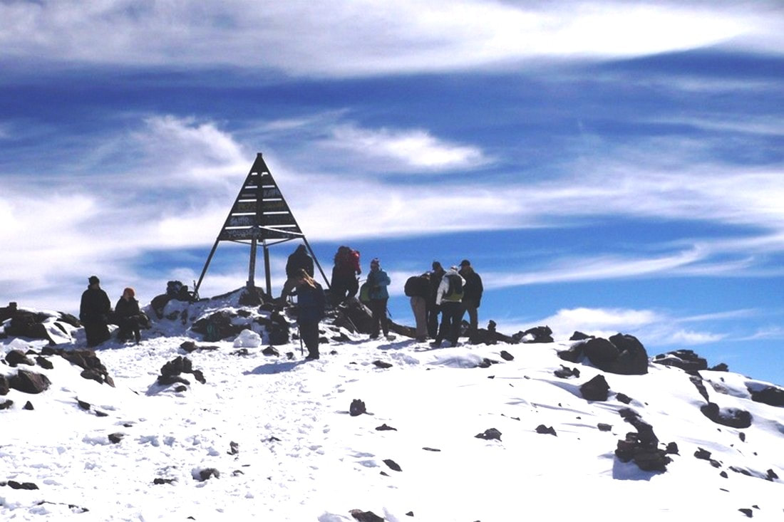 Toubkal summit ascent